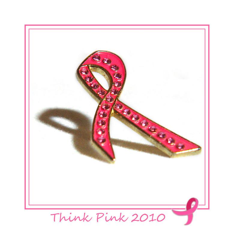 think pink 10 - Deze is weer roze, think pink.<br /> Door pink ribbon te steunen, kan stichting pink ribbon zorgen voor meer onderzoek. Onderzoek naa