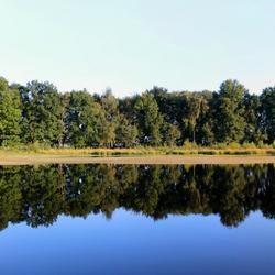 zomer spiegeling