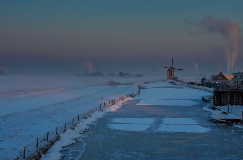 Freezing Cold - Het Westland in de greep van koning winter 2012.