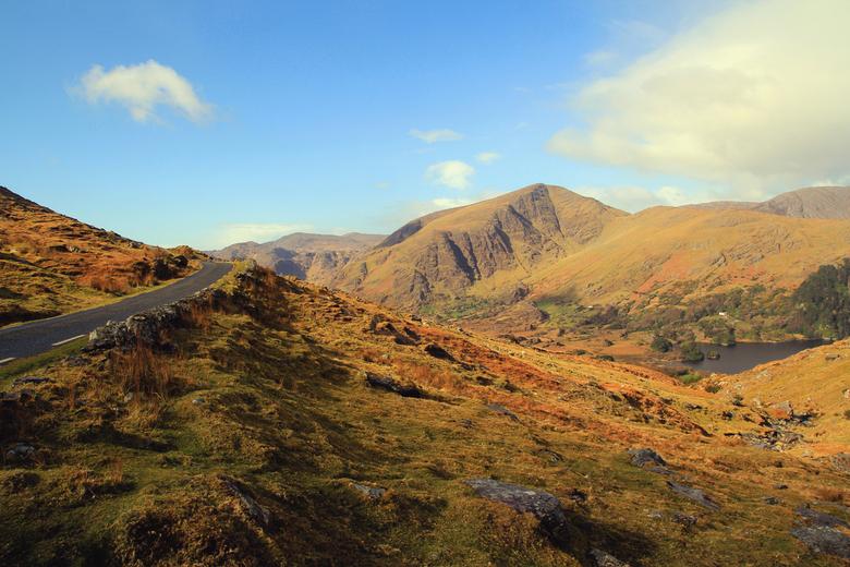 Beautiful remote Ireland - een prachtige route door Ierland. Het schiereiland Beara, een groot contrast met het drukke toeristische Kerry.....ruimte,