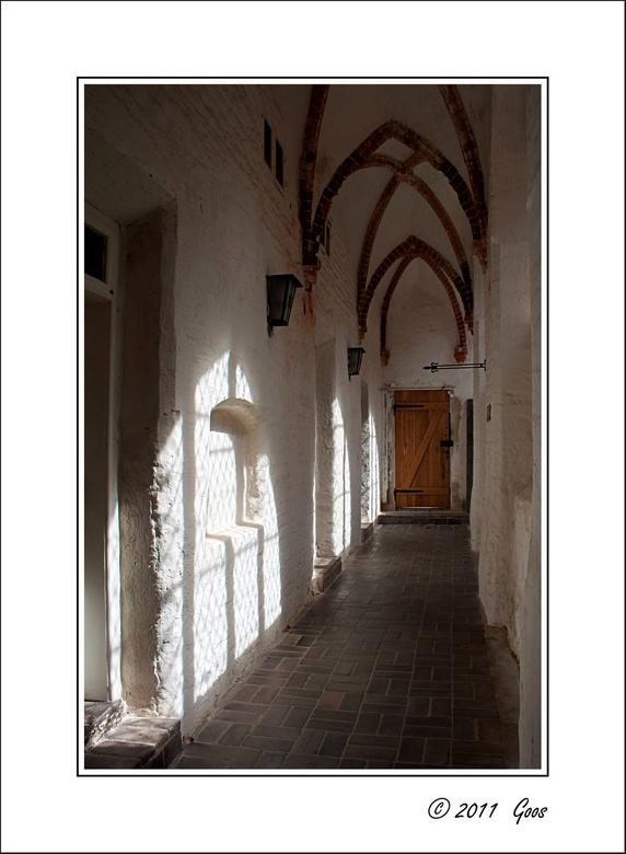 Stralsund 15 - Kloostergang.