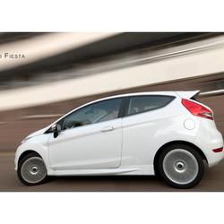 Ford Fiesta op snelheid