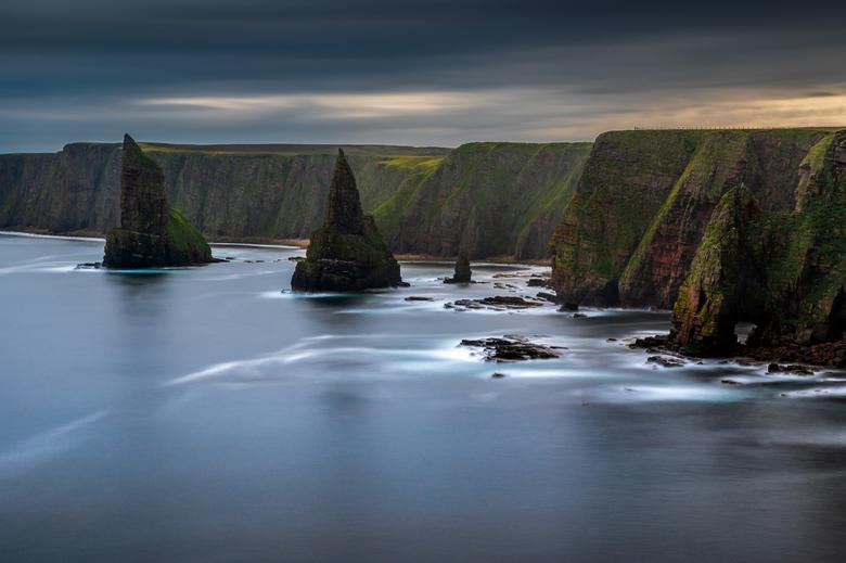 Duncansby Head - De 'seastacks' bij Duncansby Head in Schotland.