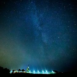Melkweg boven Den Hoorn - Texel