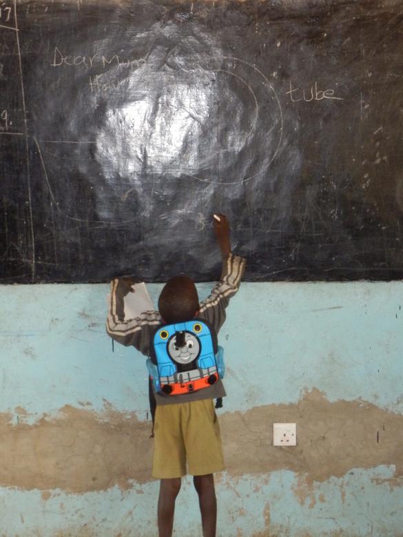 Kenia - Het betrokken maken van kinderen in het Keniaanse onderwijs.