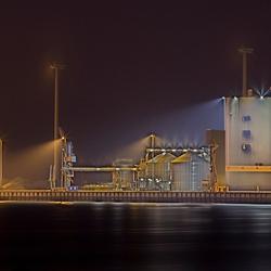 Eemshaven bij nacht 2