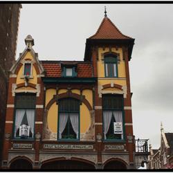 Een van de gevels in Kampen