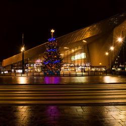 Kerst bij Rotterdam Centraal Station