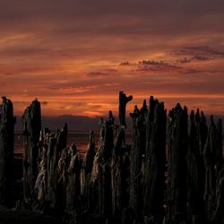 Sunset Waddenzee