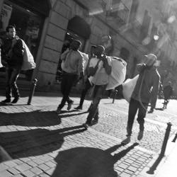Streetselling Madrid