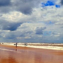 Egmond aan Zee.... Wind-Zon-Zee en Zand = Strand!