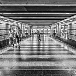 metrostation in Berlijn