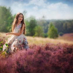 The beauty of the purple moor