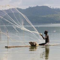visser in Ghana