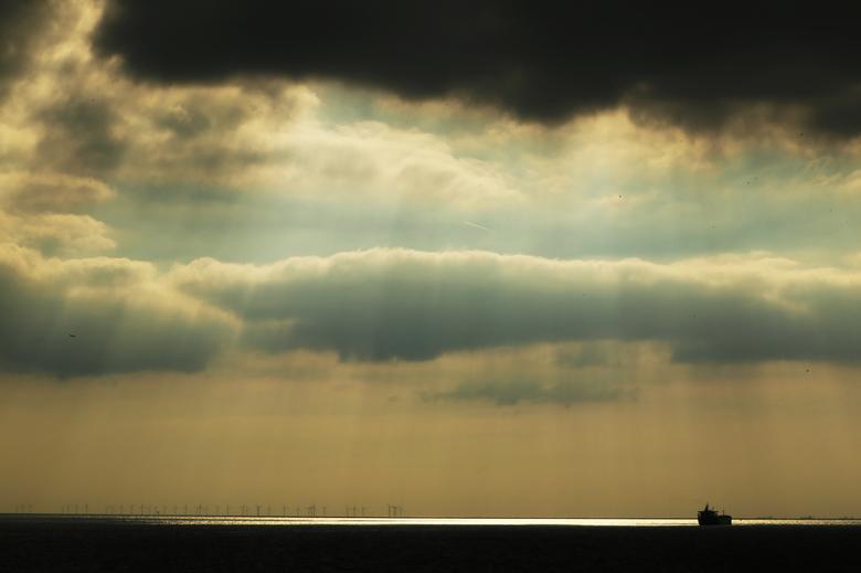 Afternoon at sea -