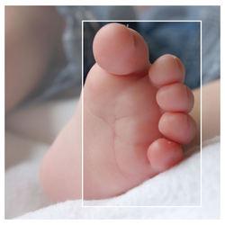 voetjes, wat zijn ze schattig