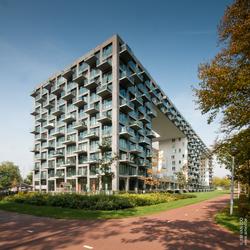 Appartementsblok in Amsterdam