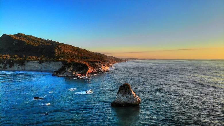 Tasman sea sunset  -