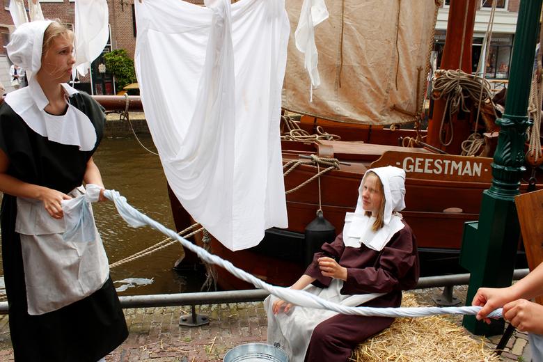 Wassen in de Middeleeuwen. - 29 en 30 juni Kaeskoppenstad in Alkmaar. Alkmaar in de tijd van de Middeleeuwen.<br /> Erg leuk in d&#039; oude stad.