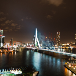 Rotterdam - Erasmus by night