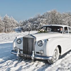 Sneeuw witte Rolls ... (2)