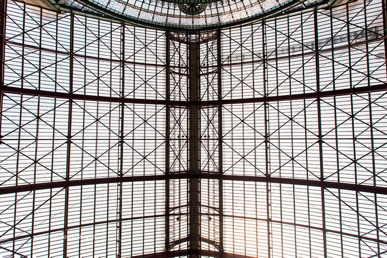 Het dak van het station Antwerpen