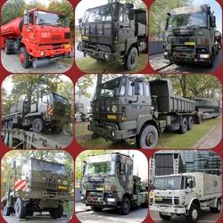 FotoJet Collage leger voertuigen Big Wolf nr2  DAF s