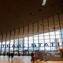 Nieuw station in Rotterdam