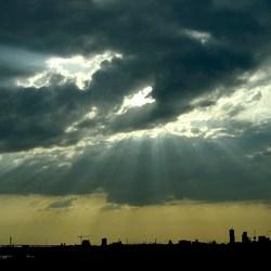 sky-line Rotterdam.