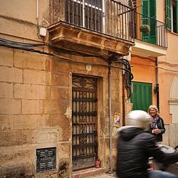 Wil ik een mooie deur fotograferen . . . . .