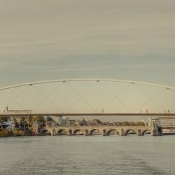 De bruggen in Maastricht (HDR)
