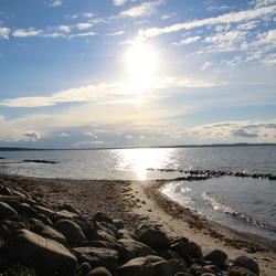 De kust bij Bogense