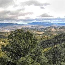 Pano Spaans landschap