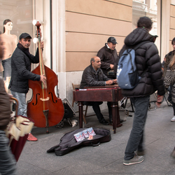 Muziek op straat