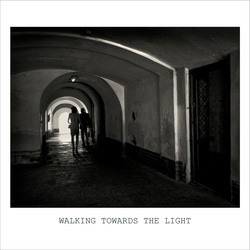 _9080072 Walking towards the light B&W01