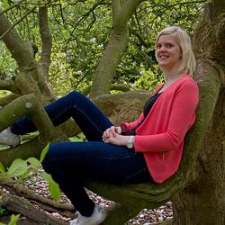 Relaxen in een boom