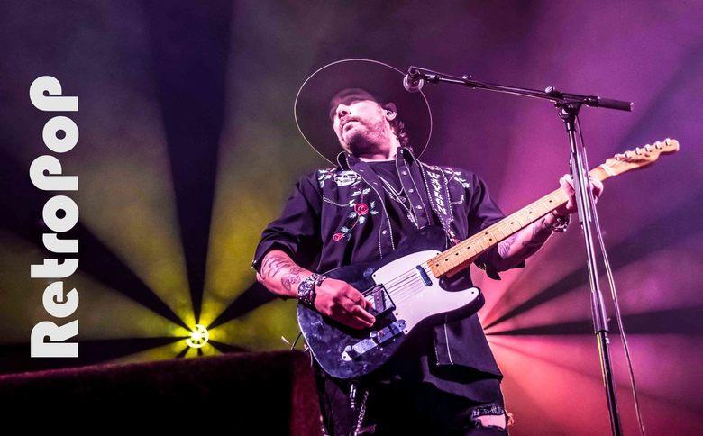 Waylon op retropop - Waylon gefotografeerd tijdens zijn optreden bij Retropop in Emmen.