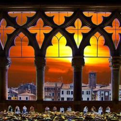 avondstond in Venetië