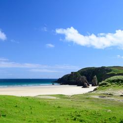 Carrry Beach, Harris, Schotland