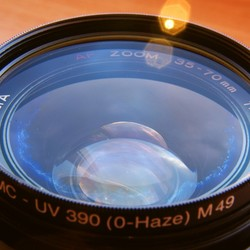 mijn 35-70mm minolta lens