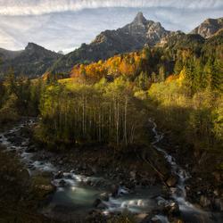Herfst in zwitserland