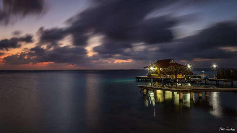 Bonaire - Bonaire vlak na zonsondergang