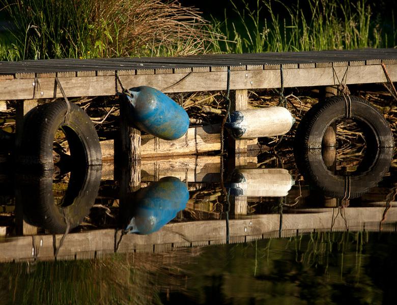 Reflaction - Het reflecteren van het licht op het water altijd een mooi schouwspel!
