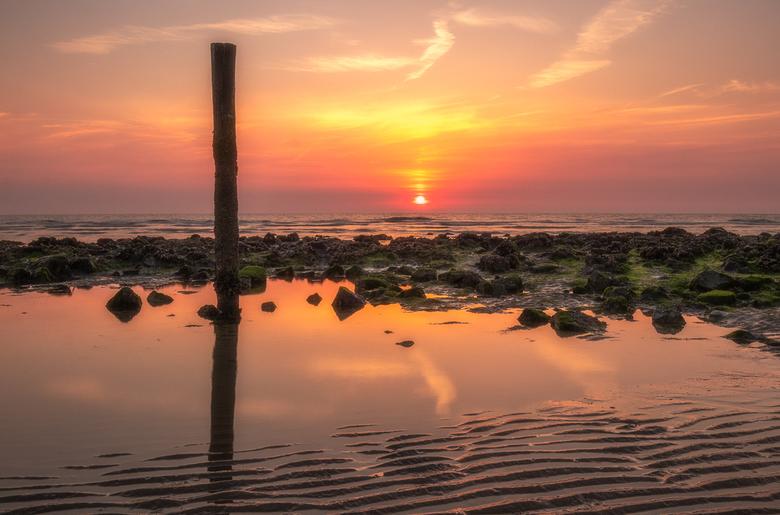 Sunset over the Sea - Nog een keer een mooie avond op Ameland