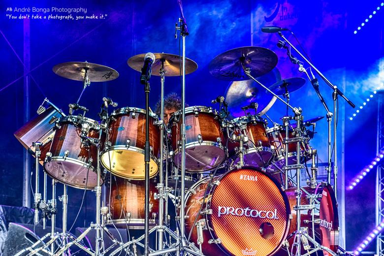 """Simon Phillips  Drummer Toto - Simon Phillips concert op Jazz festival """"Jazz in Duketown""""in Den Bosch - eerste keer dat ik me waag op concer"""