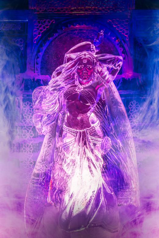 Jasmine - de dochter van de sultan uit het verhaal van 'Aladdin en de wonderlamp', een van de vertellingen uit de verzameling verhalen 'Duizend-e