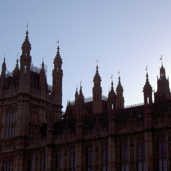 Winter in Londen, Houses of Parliament