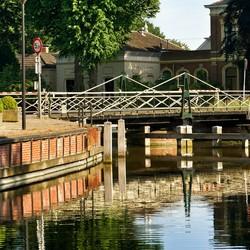 Oude brug in Onderdendam