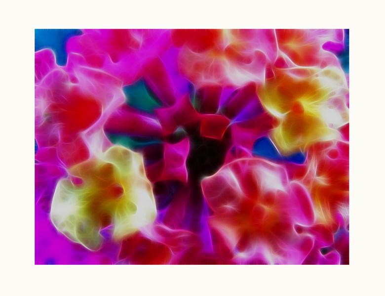 Nature Art 40-Colorfull - Foto en bewerking gemaakt en gedaan door mijn zoon menno 13 jaar. Bewerkt met filter van Redfield  -- fractalius.<br /> Gr