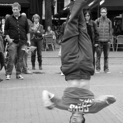 Breakdancer op straat